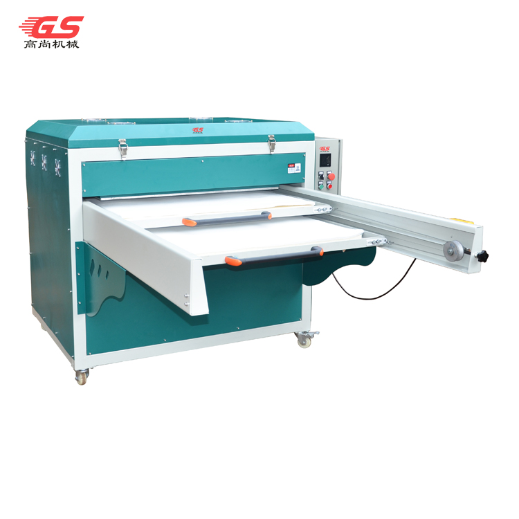Large format one side double plate automatic heat transfer machine